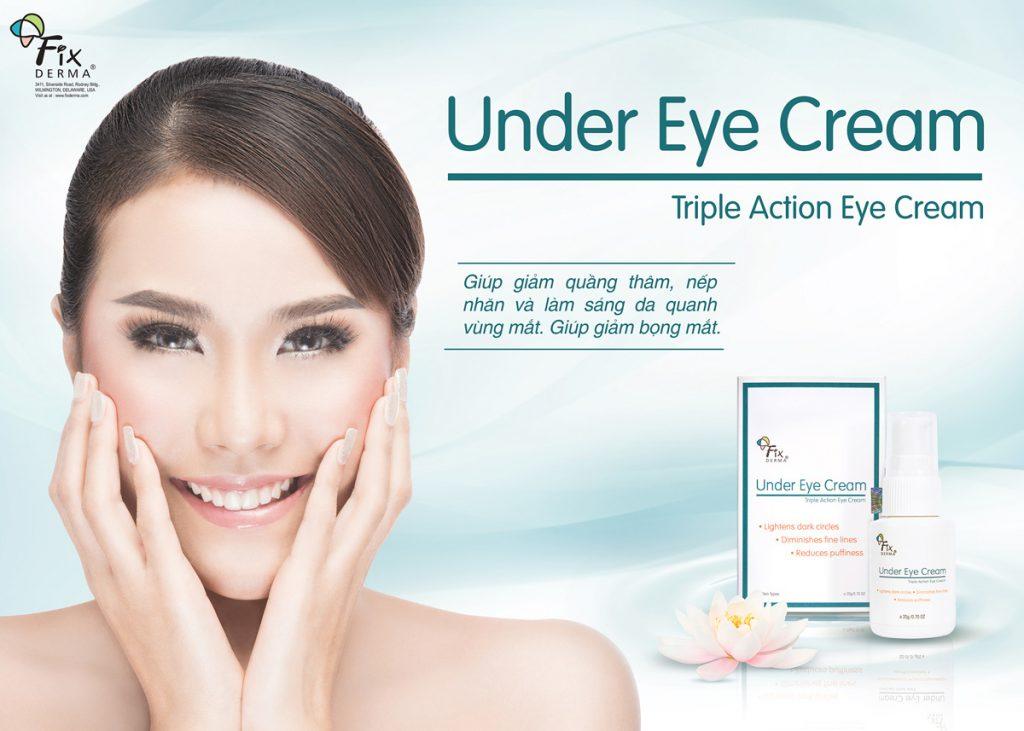 Kem Giảm Quầng Thâm - Bọng Mắt Fixderma Under Eye Cream